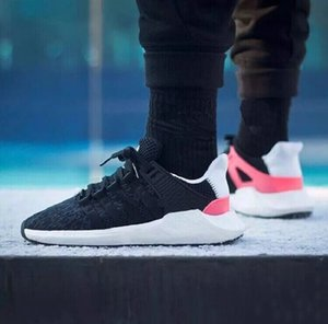2019 EQT 93 17 Supporto Future nero bianco rosa Pacchetto stemma Uomo donna turbo rosso casual sportivo Sneaker ultra scarpa