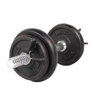 ISHOWTIENDA 2pcs 25 milímetros Barbell halteres pesos da aptidão Gym Peso Bar Dumbbell Bloqueio braçadeira Grampos Collar # Y30