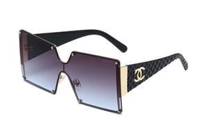 Vintage-Aluminium-Magnesium-Quadrat Sonne Glas Männer polarisierten Sonnenbrille-Schatten-Marken-Entwerfer-Mann-Platz Brillen FML
