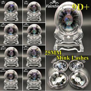New Style 25mm 3D Mink Wimpern Criss-Cross-Strands Cruelty Free High Volume Mink Lashes Weiche Dramatische Wimpern 17 Arten