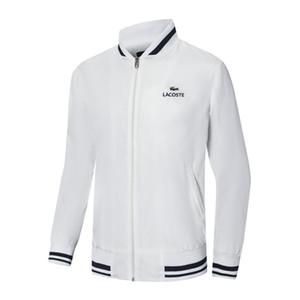 giacche di lusso degli uomini uniformi da baseball Per uomo uomo coccodrillo francese collare di baseball giacca giacca felpa uomo maglione primavera autunno