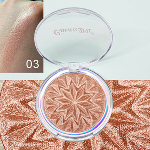 Makeup Highlighters Baked Pressed Powder Face Contour Shadow Powder Shimmer Brighten Single Powder Cake 8G Send by ePacket