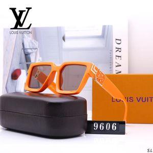 HOT 1.1 Millionäre Sunglases Männer Frauen Voll Rahmen Vintage Designer MILLIONäR 1.1 Sonnenbrille Männer MILLIONäR Schwarz-Logo Made in Italy