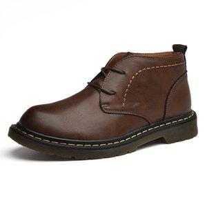 Hot Sale-Mann-Winter-Schuh-bequeme Art und Weise Schnee Stiefel wasserdichte Stiefel Herren Basic