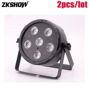80% de descuento Luz 6 * 6W LED Par Wash Light 30W CWWWY DMX Lumiere DJ Disco Home Party Stage Lighting Effect Machine A Fumee DJ Projecteur Noel