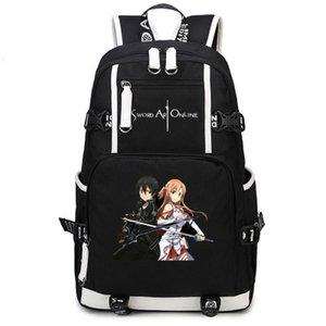 Юки Асуна меч искусство интернет САО Юки рюкзак рюкзак мешок школы печать рюкзак компьютер рюкзак Спорт рюкзак открытый рюкзак