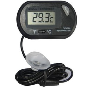 2017 nouveau LCD numérique poisson aquarium Thermomètre température de l'eau Terrarium Noir Aquariums Aquariums Poissons Livraison gratuite