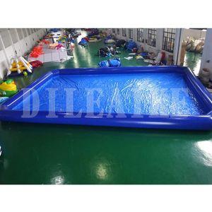 6x3x0.6m 0.9mm PVC-Plane im Freien Gummi Familie erwachsenes Kunststoff aufblasbare Schwimmbecken, Falten über den Boden Schwimmbad