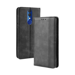For Alcatel 3 2019 Case Luxury Flip PU Leather Wallet Magnetic Adsorption Cover For Alcatel3 2019 5053Y 5053D 5053K Phone Bags