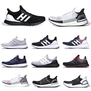 Adidas Oreo Ultra boost 5.0 Ultraboost 2019 Running shoes Cloud White Black Refract Primeknit Dark Pixel men women sports trainer sneakers 36-45