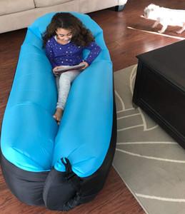 Sıcak Satış-Trend Ürünleri Çanta Ultralight Şişme kanepe Lazy bag Plaj Koltuk Laybag Hava Bed Sleeping Hızlı Işık Infaltable Hava yataklı kanepe
