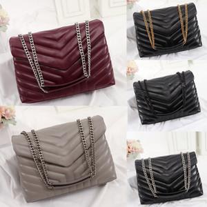 Luxusdesigner Handtaschen Square Loulou Umhängetaschen Echtleder Frauen Tasche Großkapazität Hohe Qualität Quilted Messenger Bag
