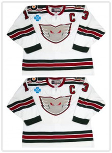 Custom #13 Lehigh Valley Philadelphia Phantoms Hockey Jersey Embroidery Stitched Customize any number and name Jerseys