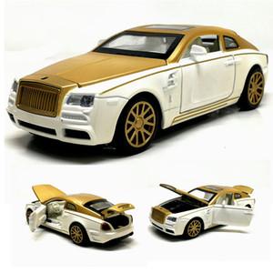 1:32 Rolls-Royce Phantom miniatura de metal Diecasts liga Toy Vehicles Model Car brinquedos para as crianças presentes T200110