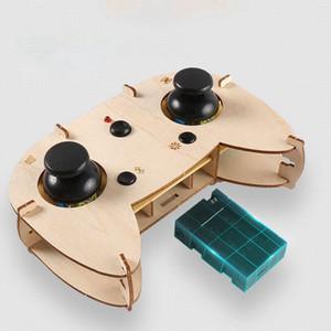 ZL100 Diy Drone Bolso Mini Corrida RC Dron de madeira 2.4ghz Quadrotor Mini Drone Remote Control Diy brinquedos para as crianças