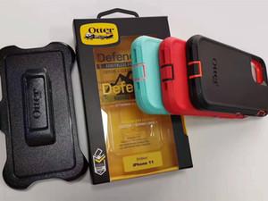 Samsung S10 10E için iphone 11 Pro max İçin Yeni Kutu Defneder Banliyö Simetri vaka 10 TPU PC Cases Shell Kapaklar + Note10