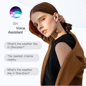 Novo Wireless Bluetooth auscultadores auriculares Bluetooth 5.0 TWS casque Auricolari Bluetooth com 250mAh carregamento Case for Sports