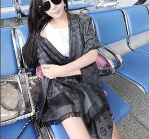 2020 Yüksek kaliteli Klasik ipek eşarp moda kadın dekoratif ipek eşarp ilkbahar ve yaz baskı şal boyutu 180 * 70cm Ücretsiz nakliye * 005