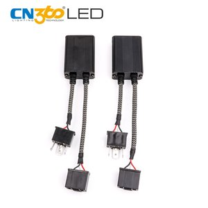 CN360 2PCS LED Decoder Free Error CANBUS partie pour LED Flicker FM interférences Message d'avertissement De Dash Board C6