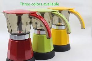 Octagonal separate electric mocha coffee maker