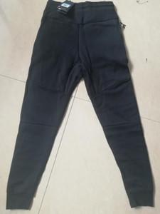Toptan-15FW Tavşan koşucu Pantolon% 100 Pamuk Erkekler Yüksek Kalite Rahat Pantolon Artı Kadife Casual Pantolon