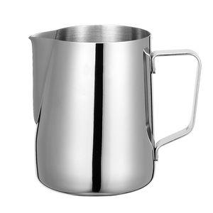 Aço Inoxidável Pitcher espuma de leite jarro Espresso Coffee Pitcher Barista Craft Café Latte Milk Frothing Jug Pitcher