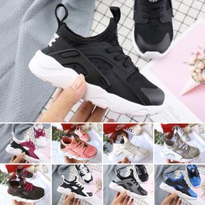 Nike air huarache 2019 Air Huarache 4 детские ботинки детские спортивные белые детские Huaraches huraches Hurache Повседневные кроссовки Детские кроссовки для бега
