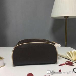Gran bolsa de cosméticos, la capacidad adecuada, tela suave, con cremalleras dobles, gran abertura fácil de recoger y guardar artículos, a prueba de agua interna.
