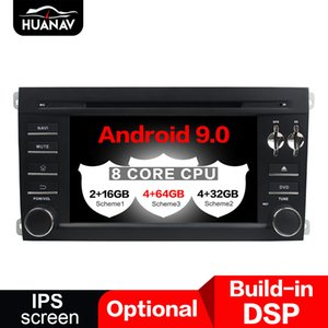 Android 9.0 Car DVD Player GPS navigation For Porsche Cayenne 2004-2010 multimedia Audio player head unit tape recorder maps