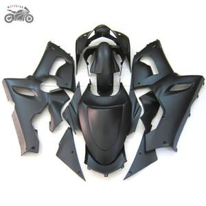 La aduana libre kits de carenados kit para Kawasaki Ninja ZX6R 636 05 06 ZX6R 2005 2006 ZX 6R mate negro de la motocicleta carenado