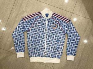 1991 1992 Manchester jaqueta de formação blusão com capuz Beckham Giggs Cantona manga Estados MAN 90 91 92 93 KEANE Solskjaer SCHOLES Longo