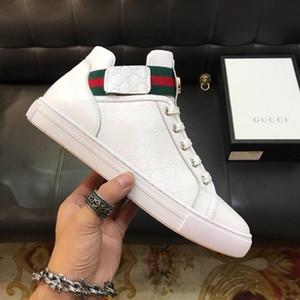 2020 Trouver des articles de luxe similaires Chaussures de sport pour hommes en cuir véritable Triple White Black Trainer Men Mode Sneaker Avec Box