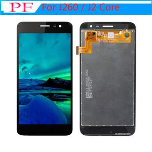Класс A +++ ЖК-дисплей для Samsung Galaxy J260 / J2 Core ЖК-дисплей с сенсорным экраном TFT дигитайзер Ассамблея Замена ЖК-дисплея Нет битых пикселей