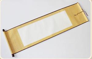 A1 китайских поставки каллиграфии пустой каллиграфия картины прокрутка висит прокрутки имитируя пол приготовленного шелка Суана бумага каллиграфию прокрутки
