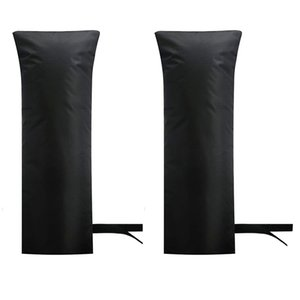 Outdoor Faucet Covers for Winter Outside Long Faucet Protector Waterproof Faucet Freeze Protectors Socks 20 x 7.87 Inch (Black)