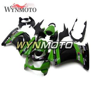 Elf Green Black Full Motorcycle Fairings para Kawasaki EX250R Ninja 250 2008 2009 2010 2011 2012 NINJA250 Inyección ABS Carrocería Personalizar