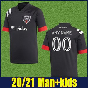 MLS 2020 D. C. United Soccer Jersey GRESSEL ROONEY Fußball-Hemd FLORES KAMARA Washington DCUnited Kinder Kit enfants mehr 10pcs geben DHL