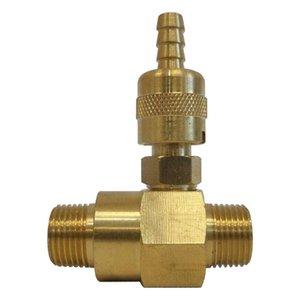 Regolabile Sapone E Injector Kit di pressione Rondella M22 MXF connettore Kit per la pulizia o spruzzatura. Resistente