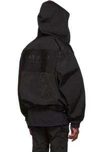 Angst Off Gott Jacke FFOG Tailoring Jacke Herren Designer-Jacken-Qualitäts-Frauen Paar Jacke Schwarz Fashion Coat Hoodies HFSSJK174