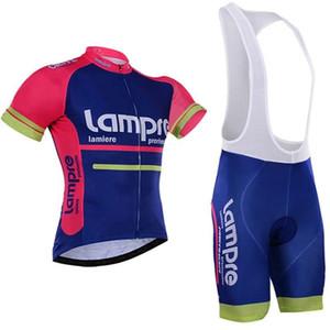 2020 про команды New LAMPRE велосипедного комплект майка дышащий летом с коротким рукавом велосипед одежда MTB Ropa Ciclismo велосипедов трико GEL