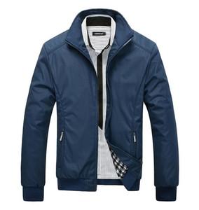 NAMTHEUN Kalite Yüksek Erkekler Ceketler 2020 Erkekler Yeni Casual Pamuk Ceket Palto Bahar Düzenli İnce erkek Ceket Coat Plus boyutu M-7XL