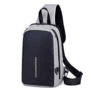 Борт Спонтанное Мода Прохладный сумка Спорт Chest пакет Универсальный спортивный мешок плеча Practical Плечи Отдых