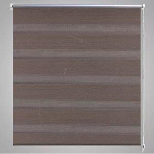 Roller Blind Blind Zebra 40X100 Cm Coffee Wall Stickers