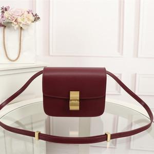 diseñador de cuero pequeñas mujeres bolsa cuadrada de verano Star el mismo placer simple cámara del bolso nuevo y fresco de moda de lujo bolso único Monedero