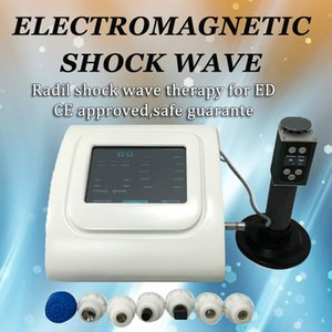 Tragbare Acoustiv Shock Wave Medical Physiotherapie ESWT Stoßwellentherapie-Maschine / Medizinstoßwellentherapie zur Schmerzbehandlung