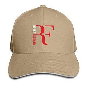 disar-t Unisex Moda Ayarlanabilir Roger-Federer Rf Beyzbol Spor Dış Mekan Yaz Hat Caps