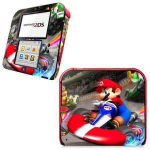 Für Super Mario Vinyl Cover Decal Haut Aufkleber für 2DS Skin Aufkleber für Nintendo 2Ds Vinylhaut-Aufkleber-Schutz