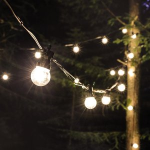 sandy beach garden Party lighting G50 bulb lamp string 10 lights 20 Lights can be Connected Outdoor Waterproof IP44 Horse running LED