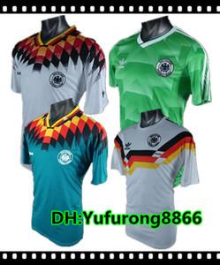 1990 1994 1988 Retro-Version VINTAGE CLASSIC Fußball-Trikot KLINSMANN 18 Matthias 10 Zuhause weg 2017 2018 Hemden JERSEY S-XL