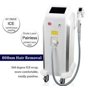 2021 Depilação a laser Lightsheer 808nm Diode Laser Platinum Ice Lazer depilação a Diode axila cabelo Bikini Laser
